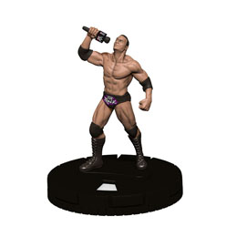 WWE HEROCLIX MINIATURE THE ROCK