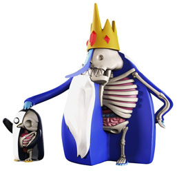 Photo du produit PACK 2 FIGURINES XXRAY ADVENTURE TIME ICE KING & GUNTER 11-21 CM Photo 1