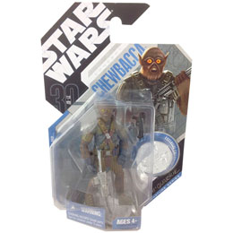 FIGURINE CONCEPT CHEWBACCA STAR WARS LEGENDS A NEW HOPE R. MCQUARRIE