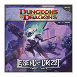 DUNGEONS & DRAGONS JEU DE PLATEAU THE LEGEND OF DRIZZT (EN ANGLAIS)