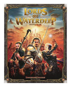 DUNGEONS & DRAGONS JEU DE PLATEAU LORDS OF WATERDEEP (EN ANGLAIS)