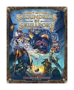 DUNGEONS & DRAGONS EXTENSION JEU DE PLATEAU LORDS OF WATERDEEP SCOUNDRELS OF SKULLPORT (EN ANGLAIS)