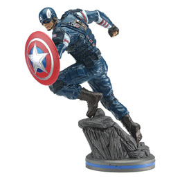 AVENGERS 2020 VIDEO GAME STATUETTE PVC 1/10 CAPTAIN AMERICA 22 CM