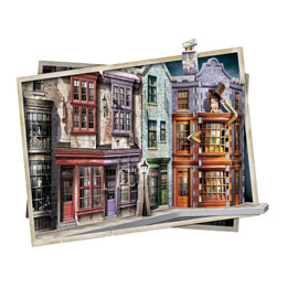 Photo du produit HARRY POTTER PUZZLE 3D THE BURROW (WEASLEY FAMILY HOME) Photo 1