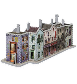 Photo du produit HARRY POTTER PUZZLE 3D THE BURROW (WEASLEY FAMILY HOME) Photo 2