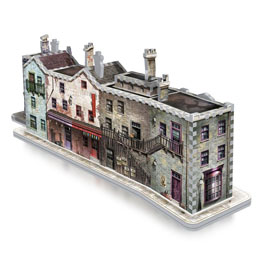 Photo du produit HARRY POTTER PUZZLE 3D THE BURROW (WEASLEY FAMILY HOME) Photo 3