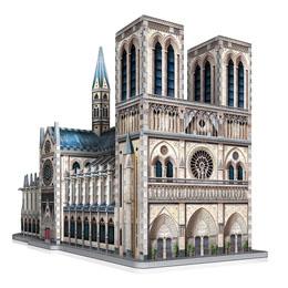 WREBBIT CASTLES & CATHEDRALS COLLECTION PUZZLE 3D NOTRE-DAME DE PARIS (830 PIÈCES)
