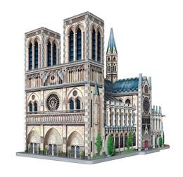Photo du produit WREBBIT CASTLES & CATHEDRALS COLLECTION PUZZLE 3D NOTRE-DAME DE PARIS (830 PIÈCES) Photo 2
