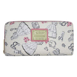 Disney by Loungefly Porte-monnaie Beauty and the Beast Creme Exclusive