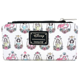 PORTEFEUILLE DISNEY PRINCESSES DISNEY LOUNGEFLY
