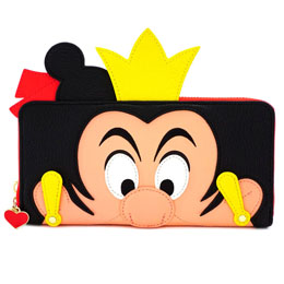 DISNEY BY LOUNGEFLY PORTE-MONNAIE QUEEN OF HEARTS
