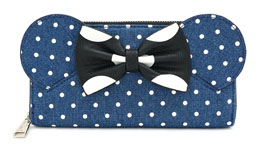 DISNEY BY LOUNGEFLY PORTE-MONNAIE MINNIE MOUSE DOTS