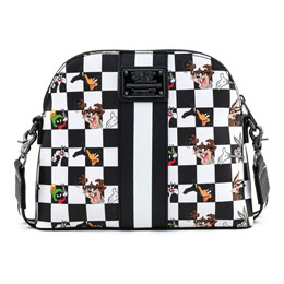 Photo du produit LOONEY TUNES BY LOUNGEFLY SAC À BANDOULIÈRE B&W CHECK CHARACTER Photo 1