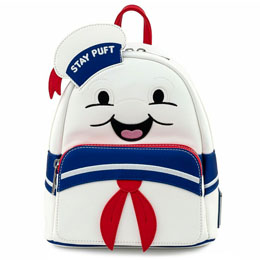 SAC À DOS STAY PUFT MARSHMALLOW GHOSTBUSTERS LOUNGEFLY 26CM