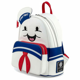Photo du produit SAC À DOS STAY PUFT MARSHMALLOW GHOSTBUSTERS LOUNGEFLY 26CM Photo 1