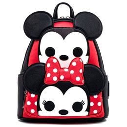 SAC À DOS BUGS MICKEY AND MINNIE DISNEY LOUNGEFLY 27CM
