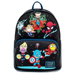 SAC À DOS PERSONNAGES MARVEL LOUNGEFLY