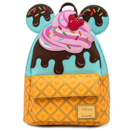 SAC À DOS BUGS ICE CREAM MICKEY MINNIE DISNEY LOUNGEFLY