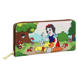 PORTE-CARTES PORTEFEUILLE DISNEY LOUNGELFY BLANCHE NEIGE