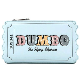 PORTE-CARTES PORTEFEUILLE TICKET CIRQUE DUMBO DISNEY LOUNGEFLY