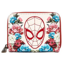 Porte monnaie porte carte Floral Spiderman Marvel Loungefly