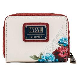 Photo du produit Porte monnaie porte carte Floral Spiderman Marvel Loungefly Photo 1