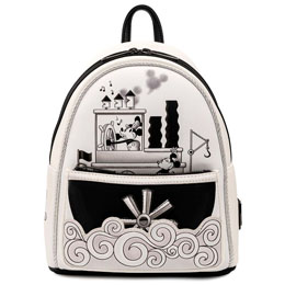 Sac à dos Steamboat Willie Mickey Mouse Disney Loungefly 26cm