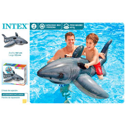 Photo du produit REQUIN GONFLABLE POUR MER ET PISCINE Photo 1