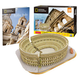 PUZZLE 3D COLOSSEUM NATIONAL GEOGRAPHIC