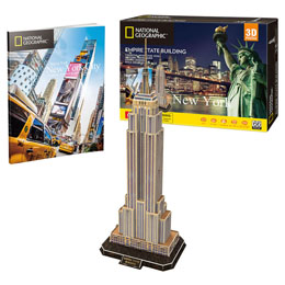 PUZZLE 3D EMPIRE STATE BUILDING NATIONAL GEOGRAPHIC