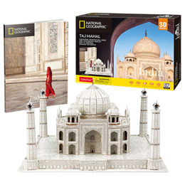PUZZLE 3D TAJ MAHAL NATIONAL GEOGRAPHIC