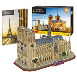 PUZZLE 3D NOTRE DAME PARIS NATIONAL GEOGRAPHIC