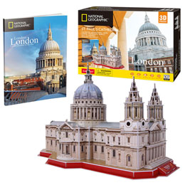 PUZZLE 3D ST. PAULS CATHEDRAL NATIONAL GEOGRAPHIC