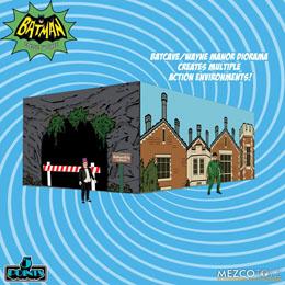 Photo du produit BATMAN CLASSIC TV SERIES FIGURINES 5 POINTS DELUXE BOX SET BATMAN (1966) 9 CM Photo 2