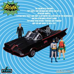 Photo du produit BATMAN CLASSIC TV SERIES FIGURINES 5 POINTS DELUXE BOX SET BATMAN (1966) 9 CM Photo 4