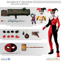 Photo du produit DC COMICS FIGURINE 1/12 HARLEY QUINN DELUXE EDITION 16 CM Photo 1