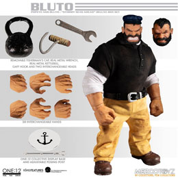 Photo du produit POPEYE FIGURINES 1/12 POPEYE & BLUTO STORMY SEAS AHEAD DELUXE BOX SET Photo 2