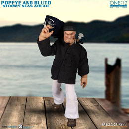 Photo du produit POPEYE FIGURINES 1/12 POPEYE & BLUTO STORMY SEAS AHEAD DELUXE BOX SET Photo 3