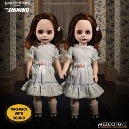 SHINING LIVING DEAD DOLLS PACK POUPÉES SONORES THE GRADY TWINS 25 CM