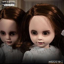 Photo du produit SHINING LIVING DEAD DOLLS PACK POUPÉES SONORES THE GRADY TWINS 25 CM Photo 1