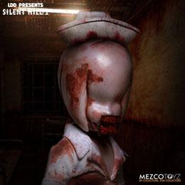 Photo du produit SILENT HILL 2 LIVING DEAD DOLLS POUPÉE BUBBLE HEAD NURSE 25 CM Photo 3