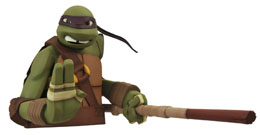 LES TORTUES NINJA TIRELIRE DONATELLO 20 CM