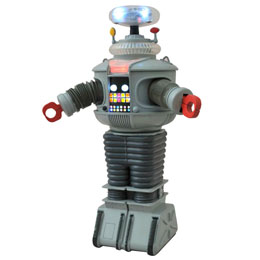 LOST IN SPACE ROBOT ÉLECTRONIQUE B9 25 CM