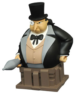 BATMAN THE ANIMATED SERIES BUSTE THE PENGUIN 15 CM (EDITION LIMITEE 3000 EX.)