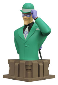 BATMAN THE ANIMATED SERIES BUSTE RIDDLER 15 CM (EDITION LIMITEE 3000 EX.)
