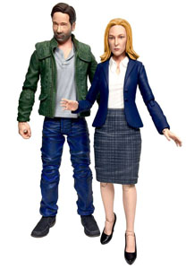 FIGURINES X-FILES MULDER ET SCULLY 18 CM - DIAMOND SELECT