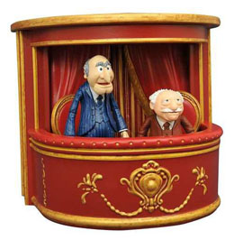 THE MUPPETS DIAMOND SELECT PACK 2 FIGURINES STATLER & WALDORF