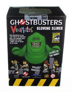 SOS FANTOMES FIGURINE VINIMATES GLOW-IN THE-DARK SLIMER SDCC 2017 EXCLUSIVE