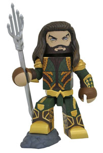 JUSTICE LEAGUE MOVIE FIGURINE VINIMATES AQUAMAN 10 CM