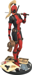 MARVEL STATUETTE PREMIER COLLECTION LADY DEADPOOL EDITION LIMITEE